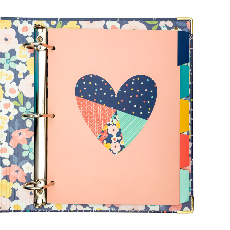 NEW Floral Love 5-Subject Reversible Dividers