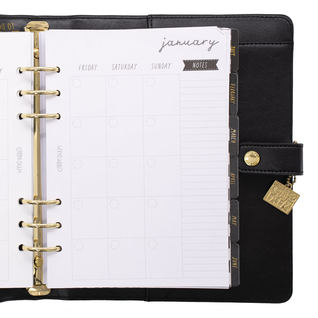 Black A5 Planner Box Set