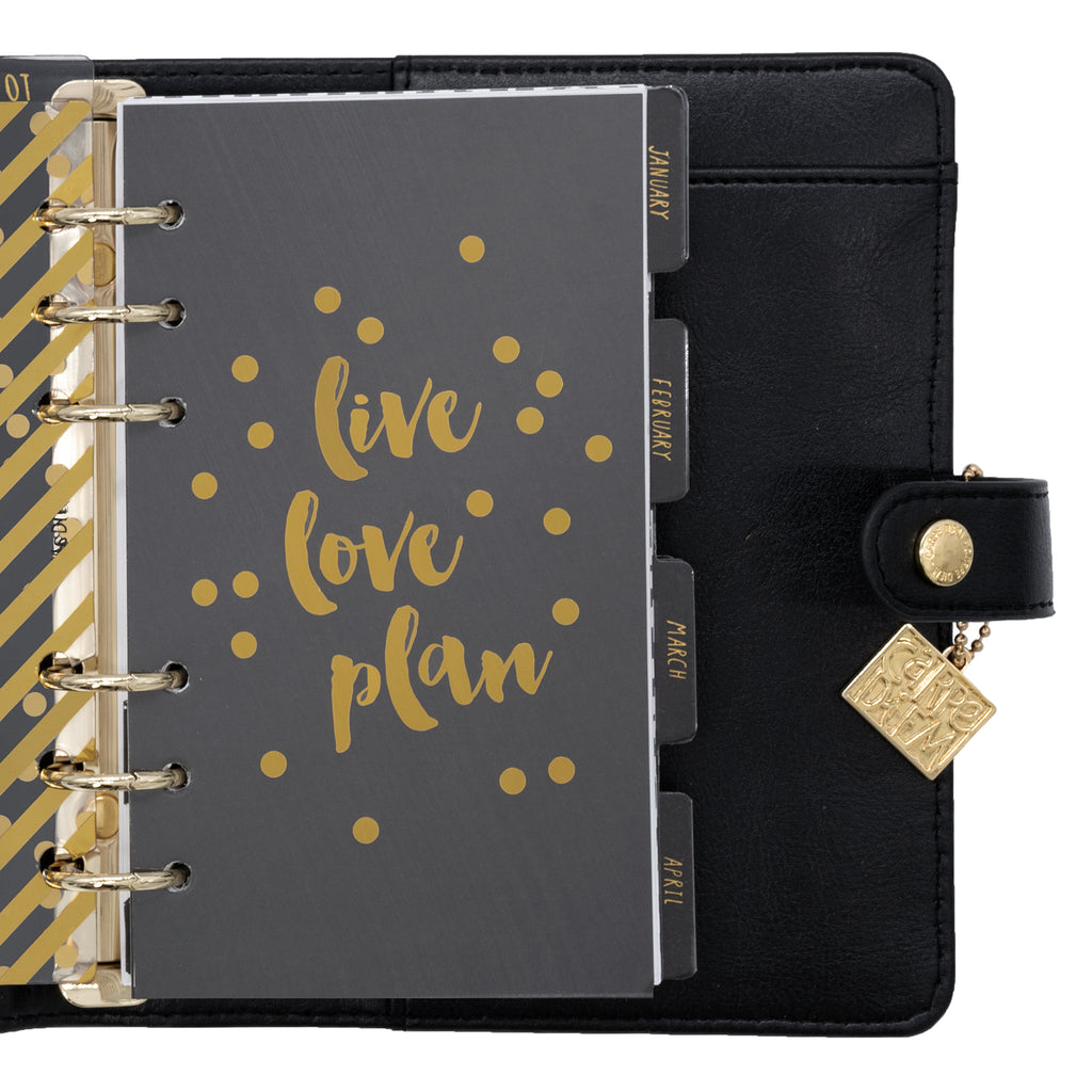 Black Personal Planner Box Set