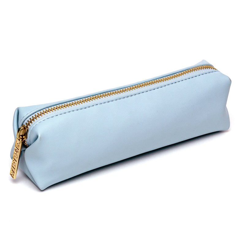 NEW Sky Blue Slim Pencil Case