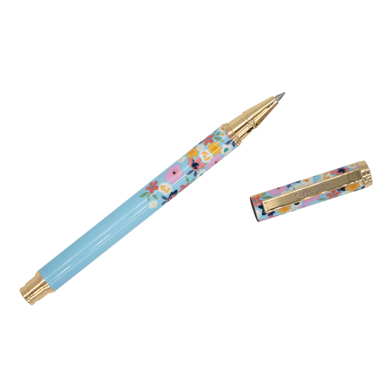 Ditsy Floral Metal Gel Pen
