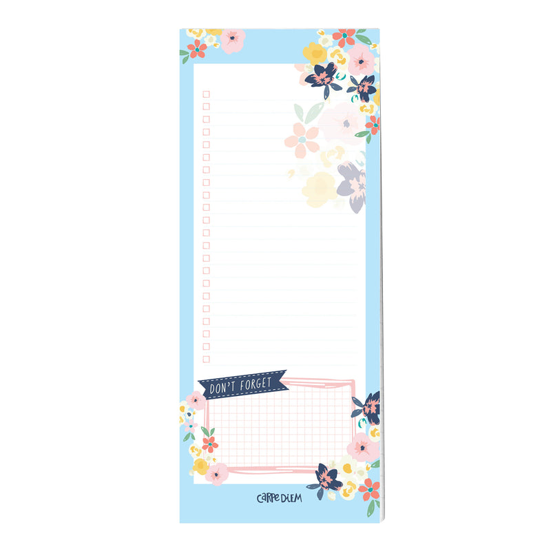 Ditsy Floral Magnetic To Do List