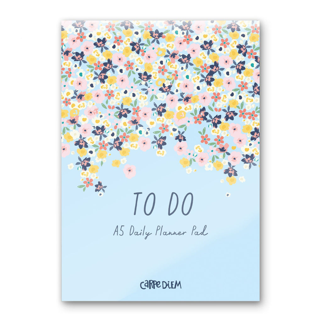 Ditsy Floral Daily Planner Pad