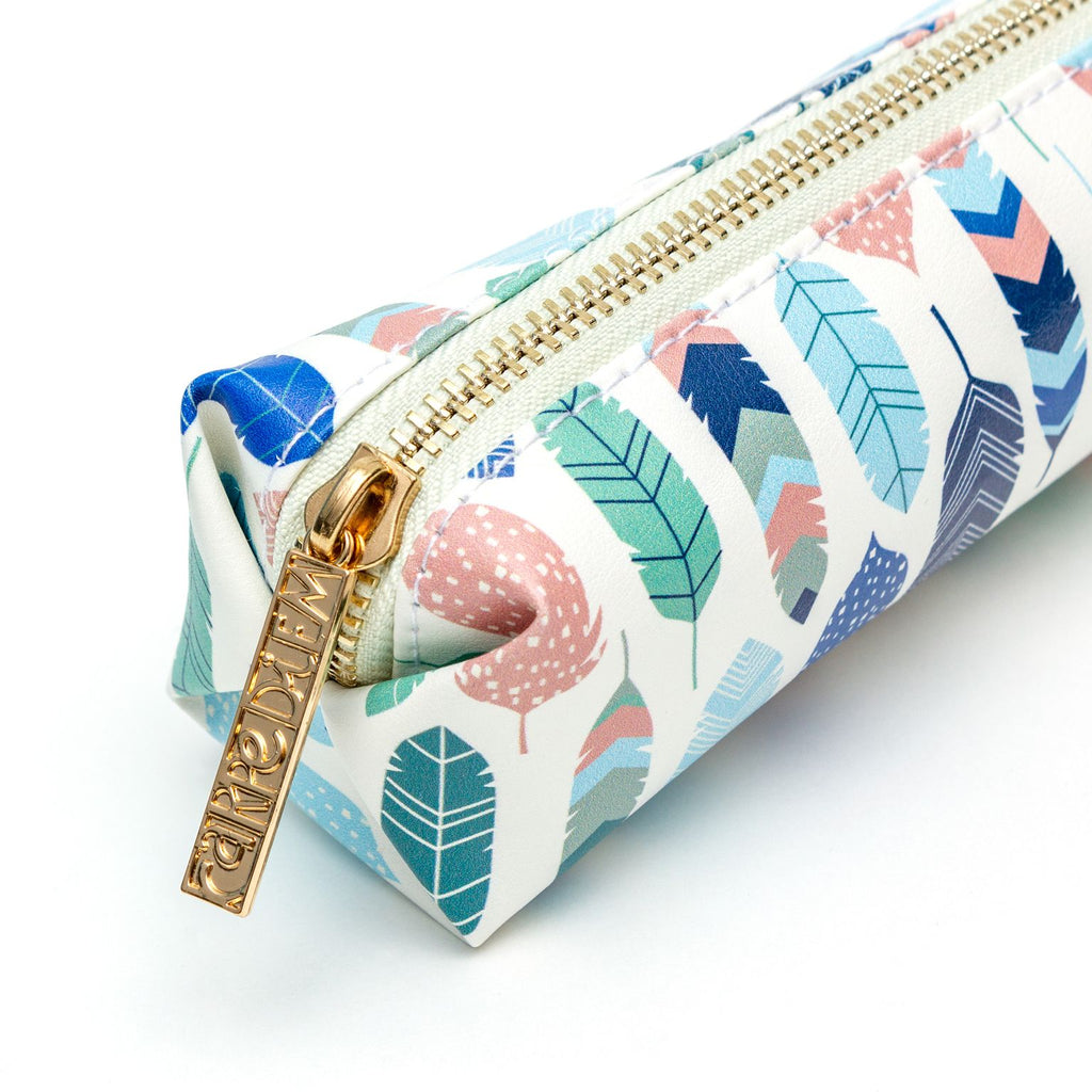 NEW Feathers Slim Pencil Case