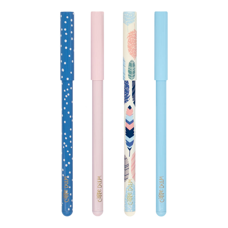 Feathers Ball Point Pen 4 Pack