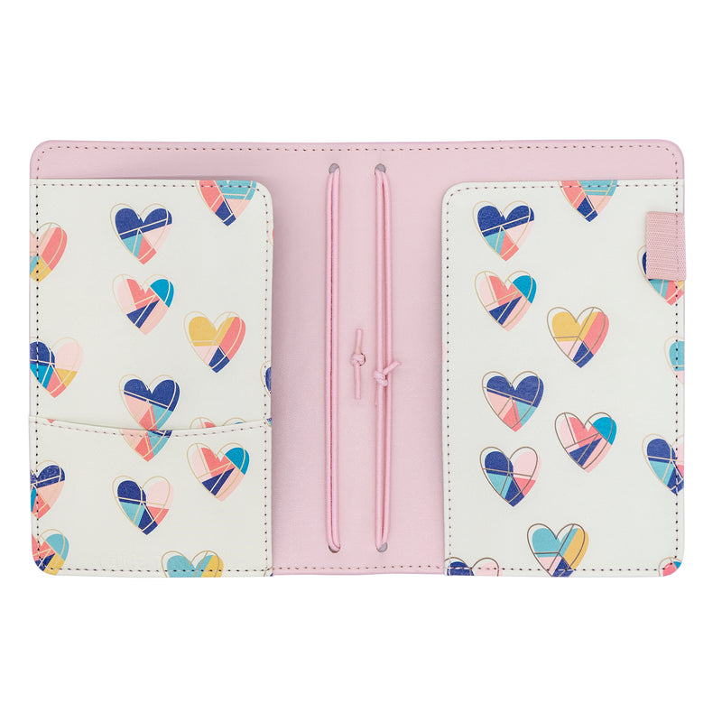 Ballerina Pink A6 Notebook and Passport Holder