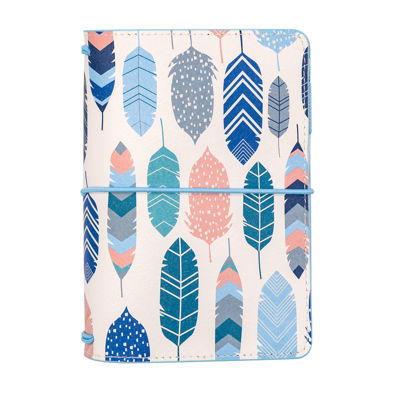 Feathers A6 Notebook and Passport Holder