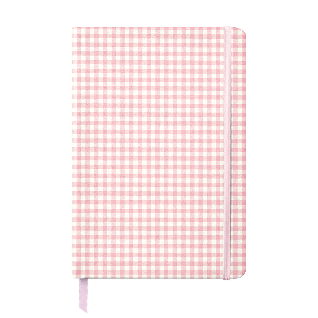 Ballerina Pink Check Soft Cover Journal