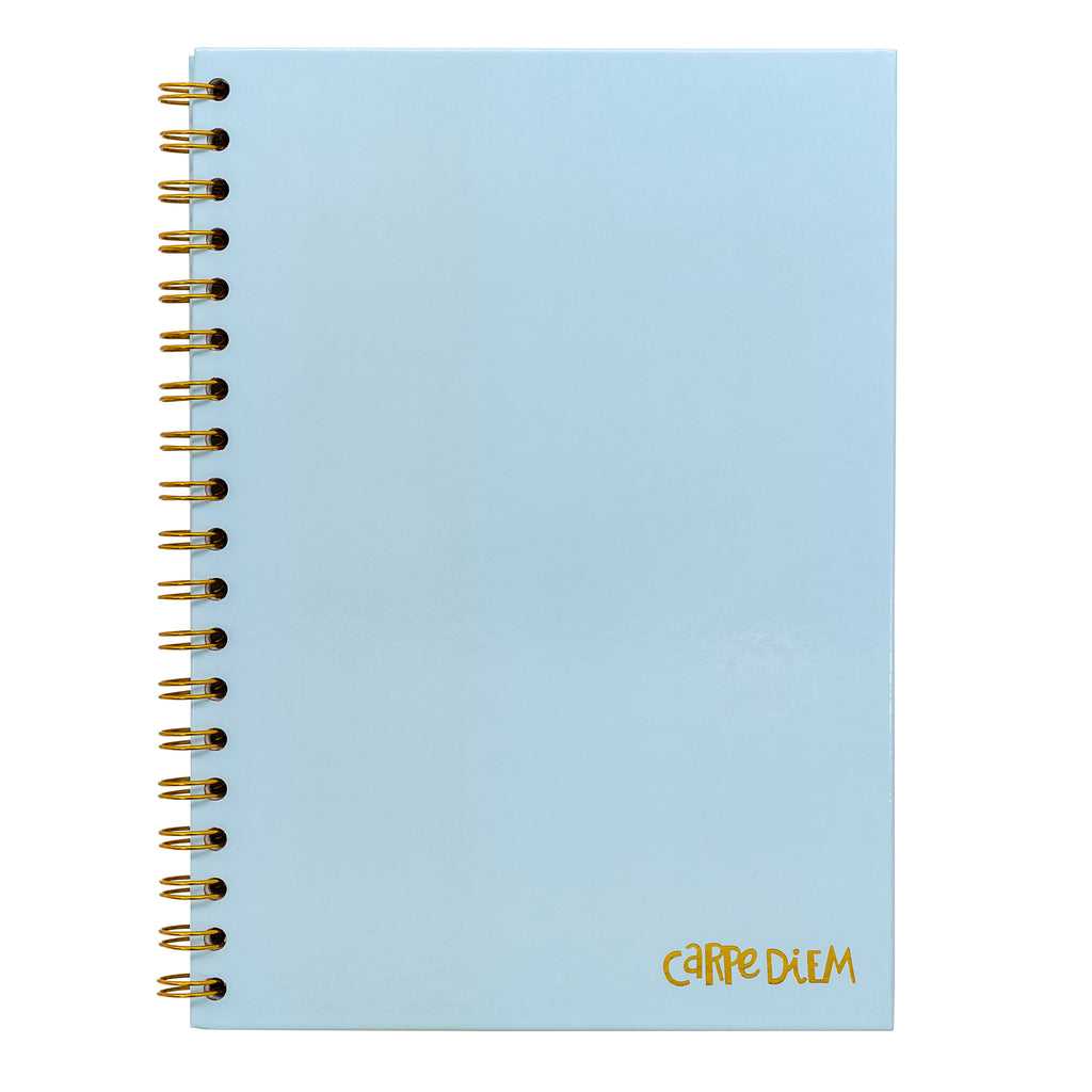 Sky Blue B5 Hardcover Notebook