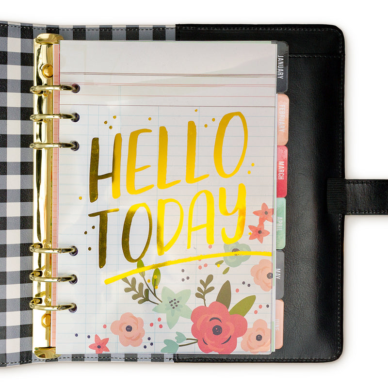 Color Wash A5 A La Carte Planner