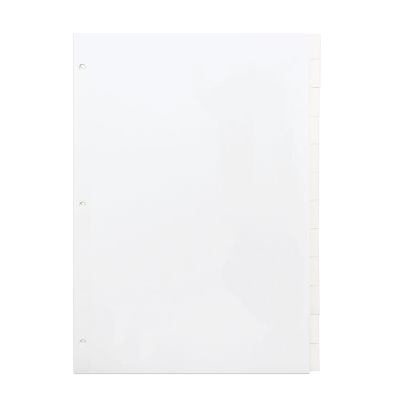 Concord White Divider Letter Size 12-Part