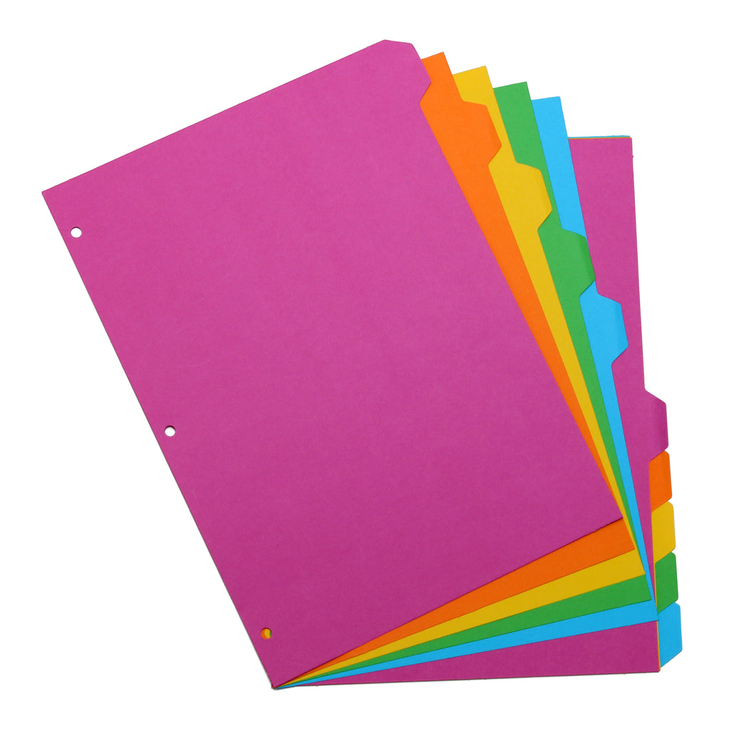 10-Part Colored Divider