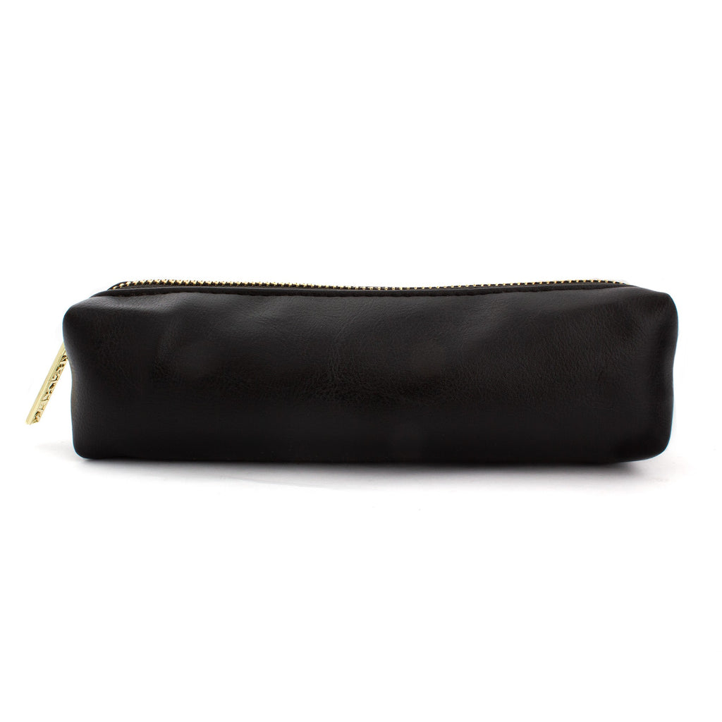 Black Slim Pencil Case