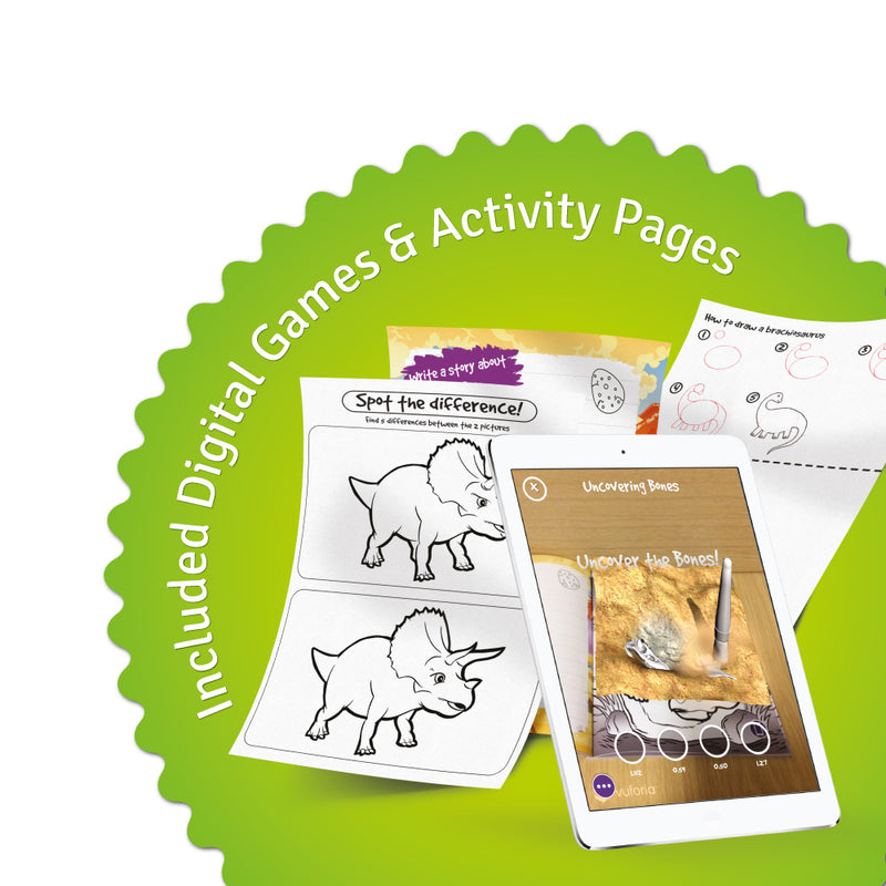 Pukka Fun Dinosaur World Augmented Reality Coloring Book