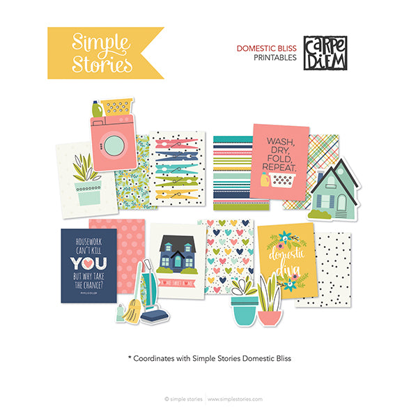 Home Printables - Freebie