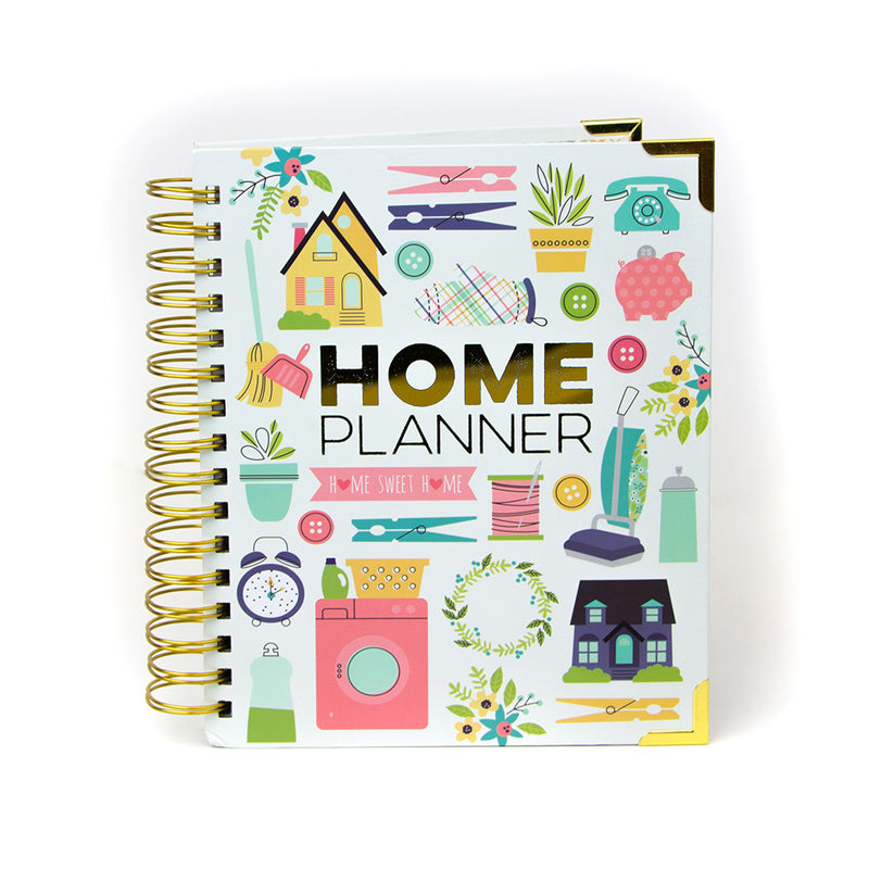 Live Simply 2020-2021 17-Month Dated Spiral Planner