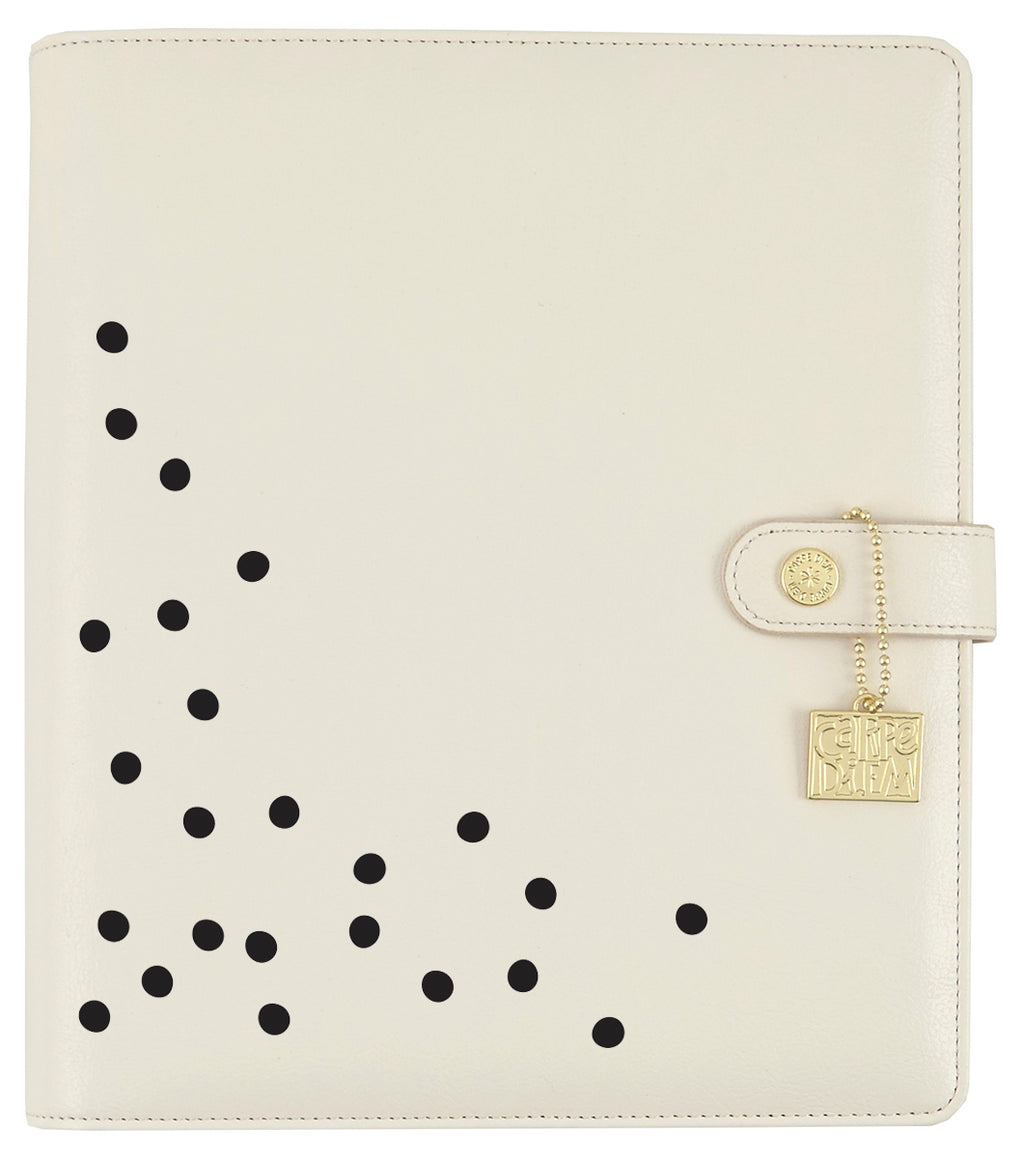 Polka Dot Black Planner Decal