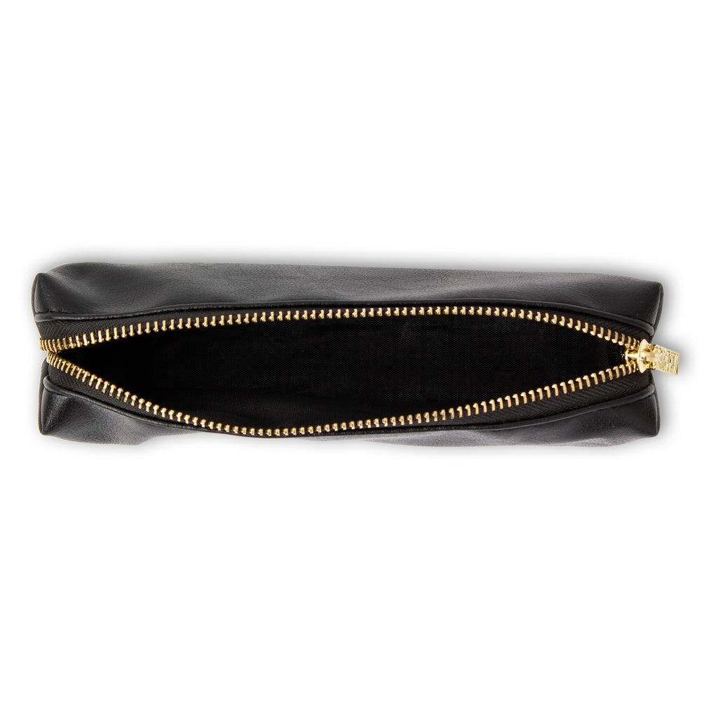 NEW Black Slim Pencil Case
