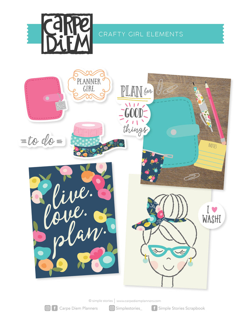 Crafty Girl Printables - Elements