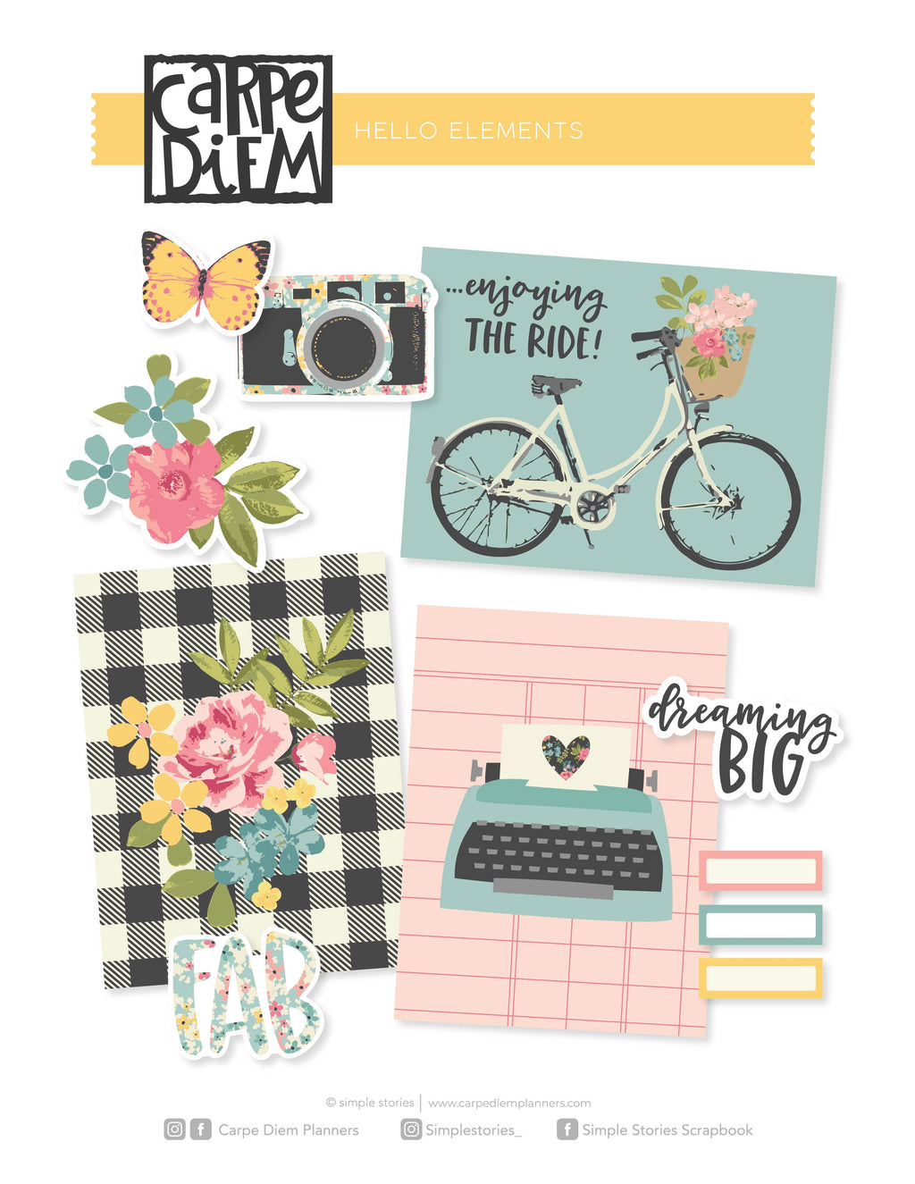 Hello Printables - Elements