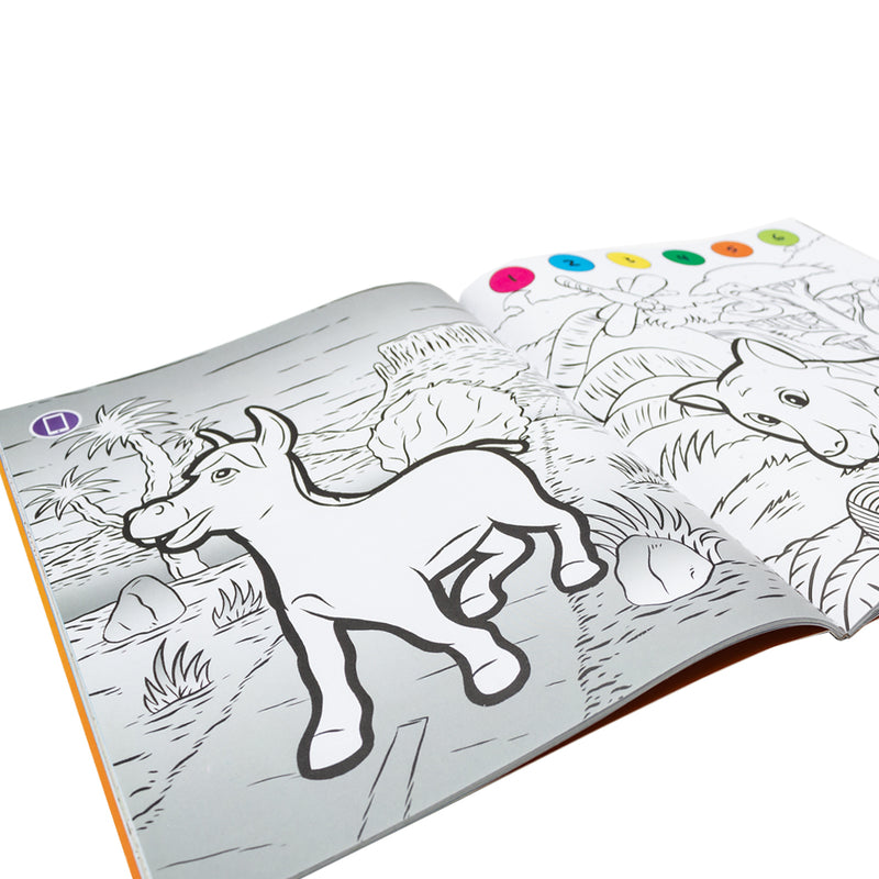 Pukka Fun Animal Kingdom Augmented Reality Coloring Book
