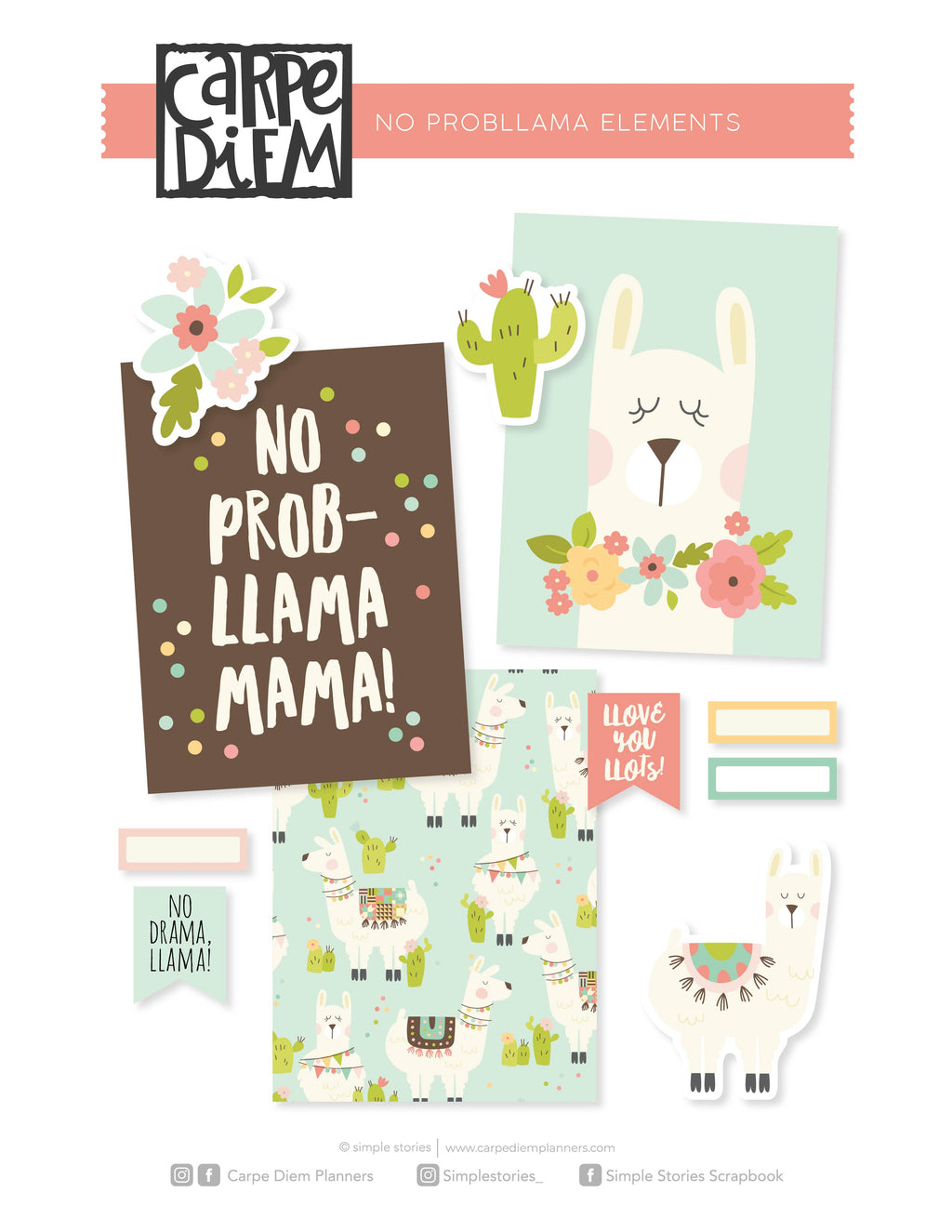 No ProbLlama Printables - Elements