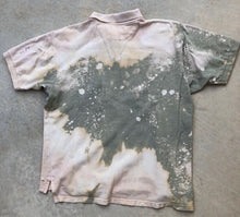 GuzFurbished Chaps X Ralph Lauren Distressed Polo Shirt (MENS LARGE)