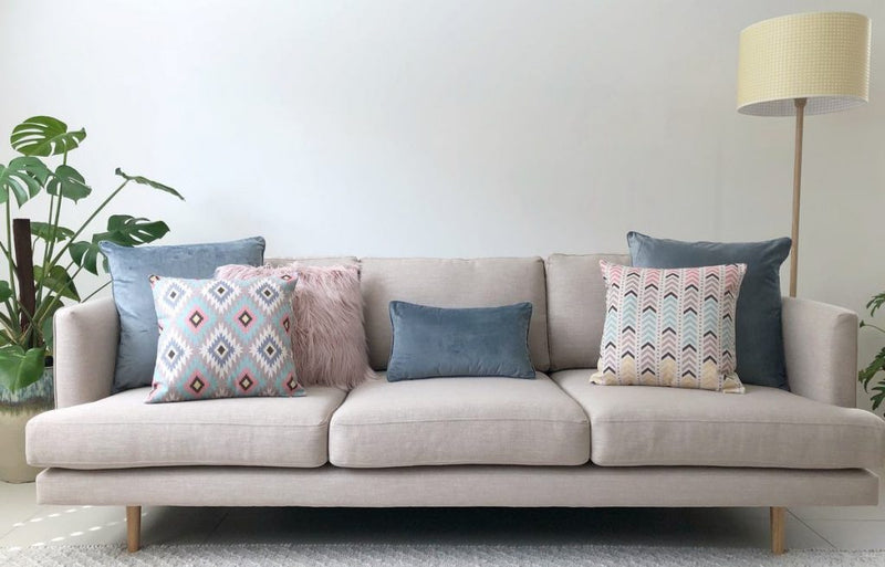 How many cushions should you put on a sofa?
