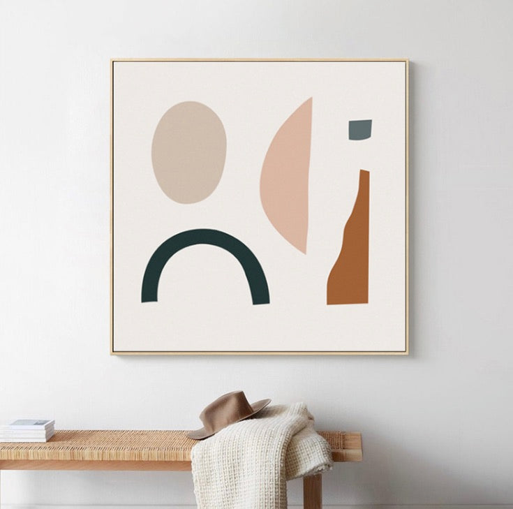 Lordial Wall Art with Frame