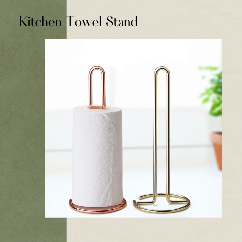 Kitchen Towel Stand Tissue Roll Stand for Kitchen Bathroom Toilet Paper Holder / Tissue Holder for Kitchen Toilet Living Room