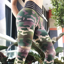 Load image into Gallery viewer, Camouflage Sexy Fitness Sportswear