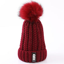 Load image into Gallery viewer, Brand Winter knitted Beanies knit Letter Bonnet