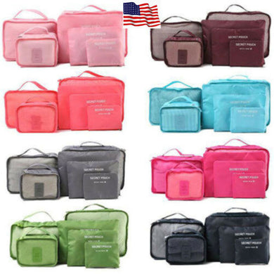 6pcs Travel Bags Waterproof