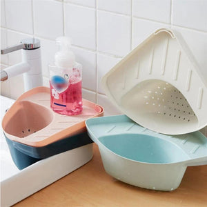 Kitchen Drain Basket Triangular
