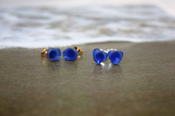 Nulu Earrings • Genuine Sea Glass