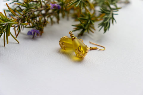 Kulu Wai Earrings • Yellow