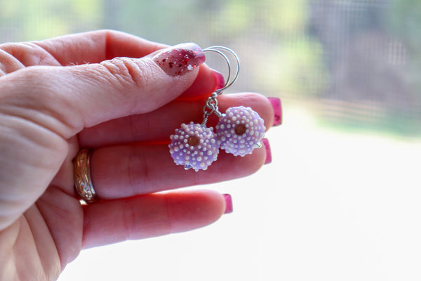 Wana Earrings • Sea Urchin Earrings