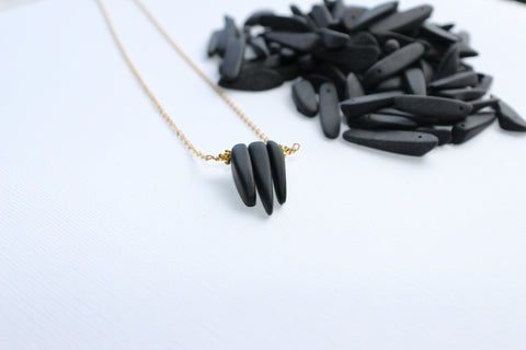 Nokauakau Necklace • Black