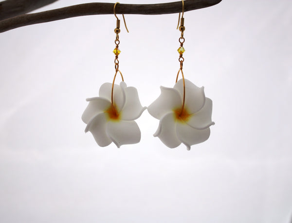 Pua Nani Earrings • White