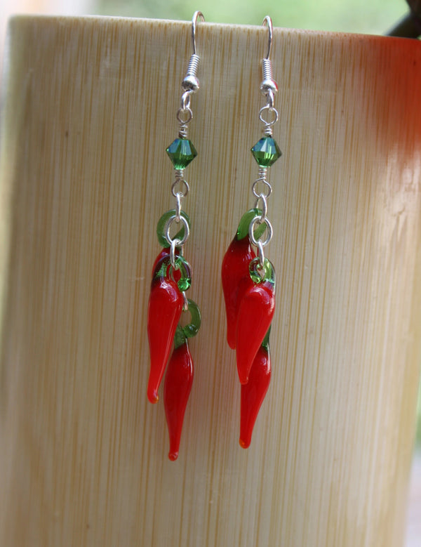 Chili Pepper Earrings