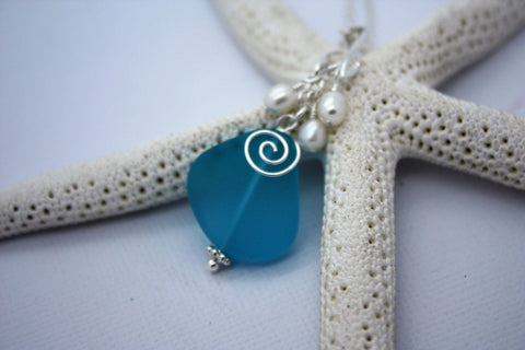 Mekealoha Necklace • Pacific Blue