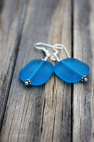 Ehu Kai Earrings • Pacific Blue