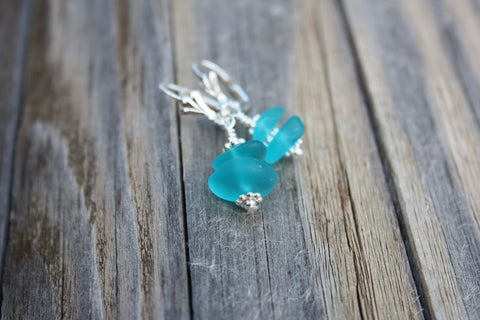 Ko'iele Earrings • Turquoise