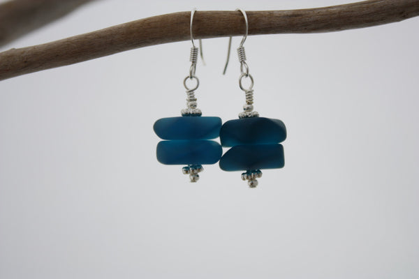 Pihi Earrings • Teal