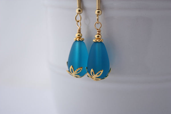 Kulu Wai Earrings • Pacific Blue