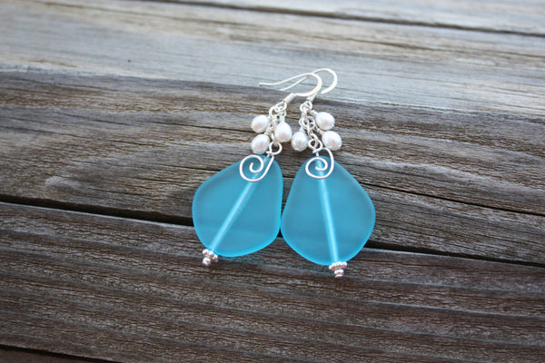 Laulea Earrings • Pacific Blue
