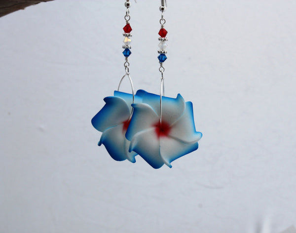 Hoolaulea Earrings • 4th of July