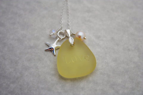 Leialoha Necklace • Sunflower Yellow