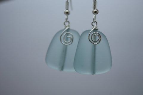 Waikiki Earrings • Aqua Blue