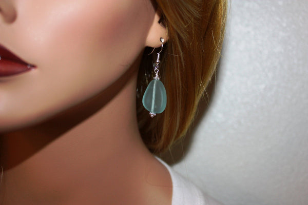 Ehu Kai Earrings • Aqua Blue